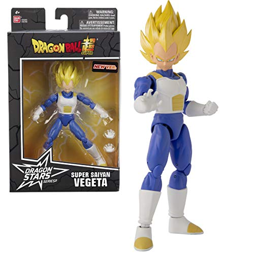 Lobcede.be BANDAI 36769 Dragon Ball Dragonstars 17 cm Figure-Super Saiyan Vegeta V2